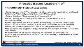 Process Based Leadership