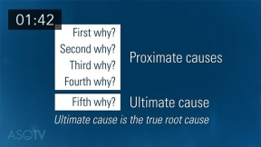 Asking Why With Root Cause and 5 Whys