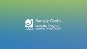 Emerging Quality Leader Program
