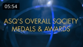 ASQ Awards and Medals Recipients