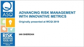 Advancing Risk Management with Innovative Metrics
