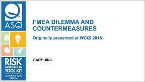 FMEA Dilemma and Countermeasures