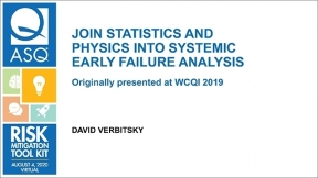 Join Statistics and Physics into Systemic Early FAILURE ANALYSIS