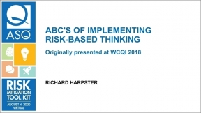 ABC's of Implementing Risk-Based Thinking