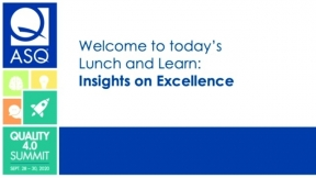 ASQE Insights on Excellence Benchmarking Tool