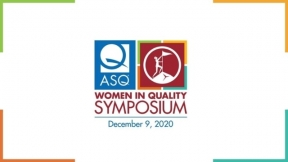 First Women in Quality Symposium